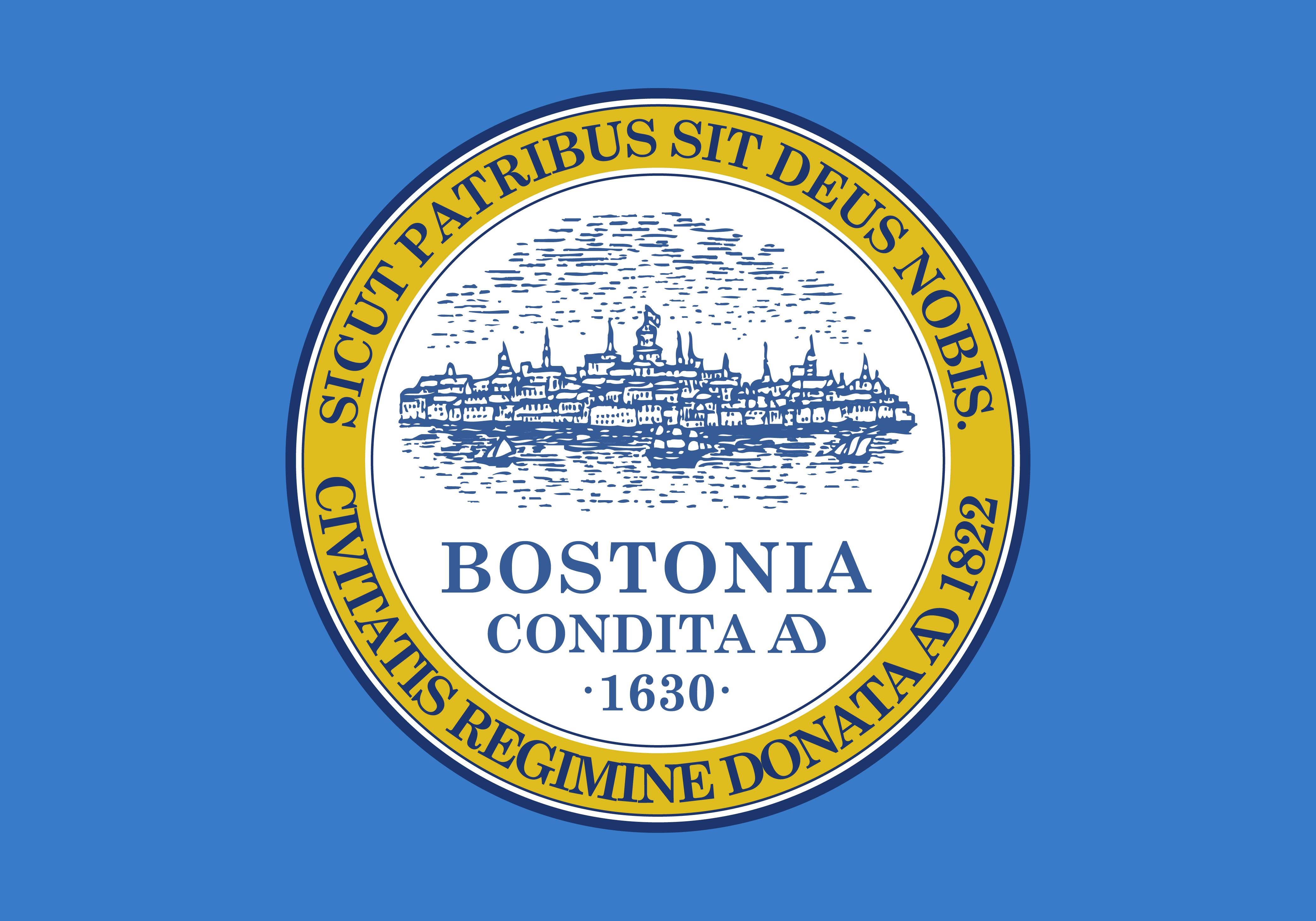 Boston City Flag, by Svgalbertian [Public domain], via Wikimedia Commons
